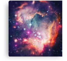 The Universe under the Microscope (Magellanic Cloud) Canvas Print