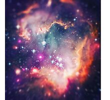 The Universe under the Microscope (Magellanic Cloud) Photographic Print