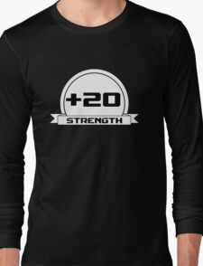 + 20 Strength Long Sleeve T-Shirt