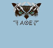 Athena's Owl II - Silver Variant Womens Fitted T-Shirt