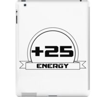 +25 Energy iPad Case/Skin