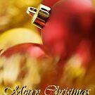 Christmas bauble card by Silvia Ganora