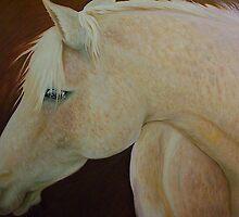 Portrait of Barb. Nancy's Horse by Noel78