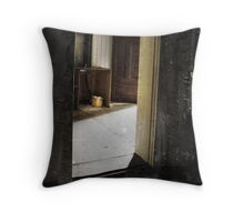 All gone Throw Pillow