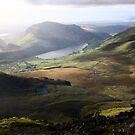 snowdonia mountain ranges by photogenic