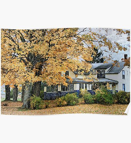 New England Beauty In Swanton Poster