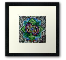 Energetic Cosmosynthesis Framed Print