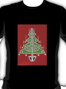Celtic Christmas Tree Tee T-Shirt