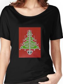 Celtic Christmas Tree Tee Women's Relaxed Fit T-Shirt