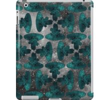 Spacecraft Black and Blue iPad Case/Skin