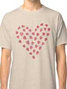 Strawberry Hearts Classic T-Shirt