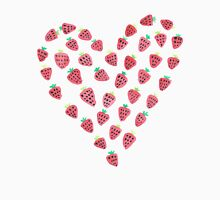 Strawberry Hearts Unisex T-Shirt