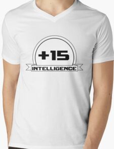 +Intelligence Mens V-Neck T-Shirt