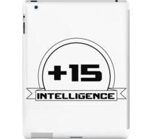 +Intelligence iPad Case/Skin