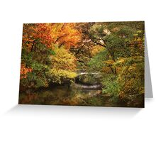Autumn on The River 2 Greeting Card