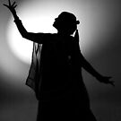 SILHOUETTE OF A DANCER by RakeshSyal