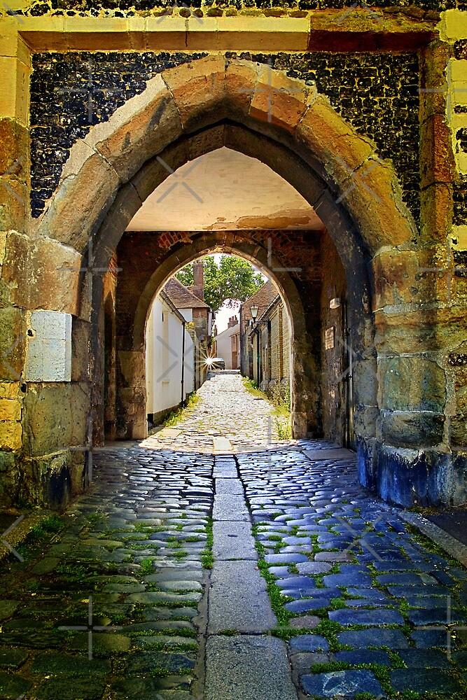Archway in Sandwich by Geoff Carpenter