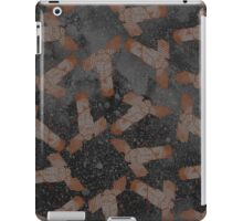 Galaxy Satellite Black and Orange iPad Case/Skin