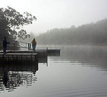 Dawn Fishing  by Bill  Cull