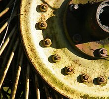 Abstract old Wheel-Keswickian tool by catherine  white