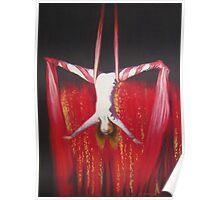 red tissue girl Poster
