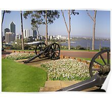 Cannons protect the City Poster