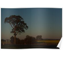 Fields at Dusk Poster