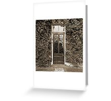 The Door To Darwin's Down House Greeting Card