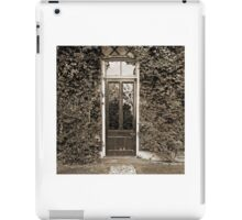 The Door To Darwin's Down House iPad Case/Skin