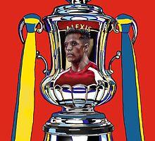 Alexis Sanchez / 2015 FA Cup Winners by ArsenalArtz