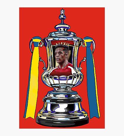 Alexis Sanchez / 2015 FA Cup Winners Photographic Print