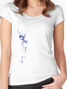 Blue Ink Women's Fitted Scoop T-Shirt