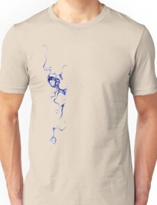 Blue Ink Unisex T-Shirt