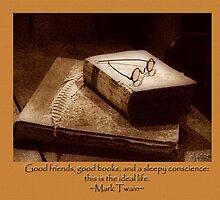 good friends, good books... by budrfli