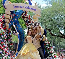 Disney's Festival of Fantasy Parade- Beauty and the Beast by megs6396