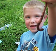 Playing with worms by Carol Knepp