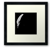 A Quill Perhaps ? Framed Print