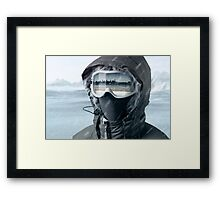 Reflection of the Past Framed Print