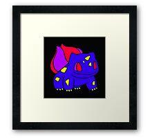 pokemon: Retrosaur Framed Print