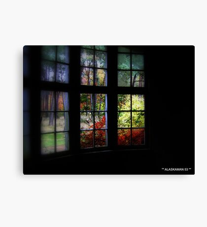 Room at the top off the world. Canvas Print