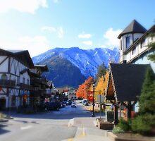 Little town of Leavenworth by Debbie Roelle
