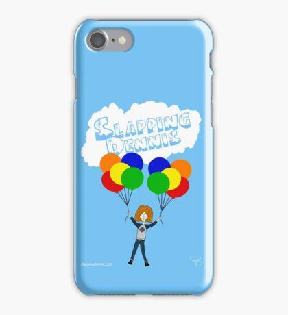 Slapping Dennis (Balloons) iPhone Case/Skin