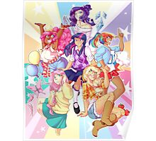 Humanized My Little Pony Poster