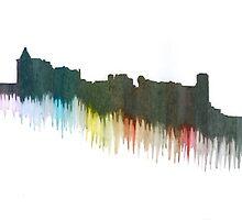 St Andrews Castle by Pamela Stirling