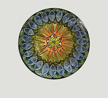 Ornate Mandala in Greens Unisex T-Shirt