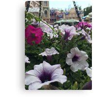 Main Street Blooms Canvas Print