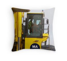 dai demag tests the new beast Throw Pillow