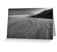Sand Moonscape Greeting Card