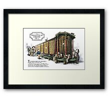 Babbage's Analytical Engine Framed Print