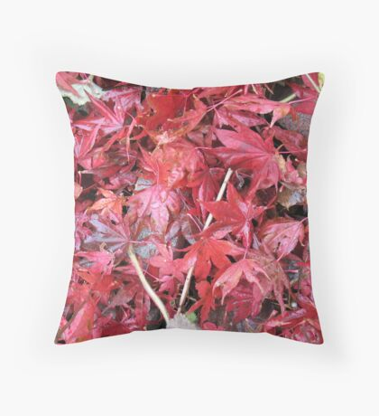 Loose Leaf Red Tea Throw Pillow